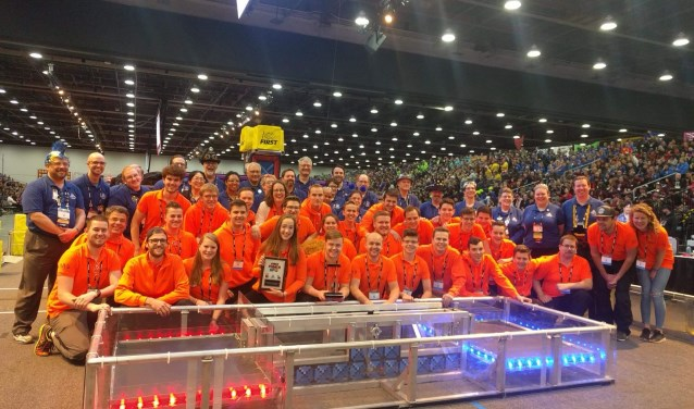 Engineering Inspiration Award voor Team Rembrandts