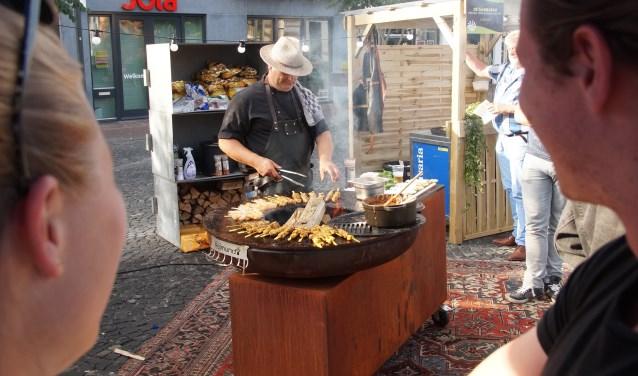 De kwaliteit van het eten werd alom geroemd (Foto, Cor Delissen)