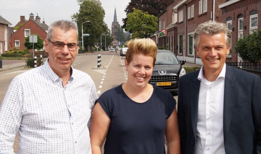 Frank de Haas, Marieke van Overbeek en Patrick van de Sande (Foto, Cor Delissen)