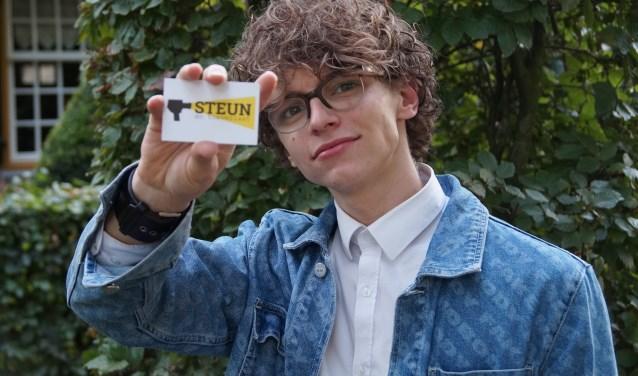 Teun Toebes is al jong actief (Foto, Cor Delissen)