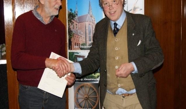 Jan Vogels, 40 jaar lid