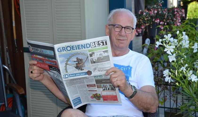 """Cor Delissen verlaat na jaren van trouwe dienst de redactie van Groeiend Best: """"Ik heb in de afgelopen jaren op krantengebied een grote revolutie meegemaakt."""""""