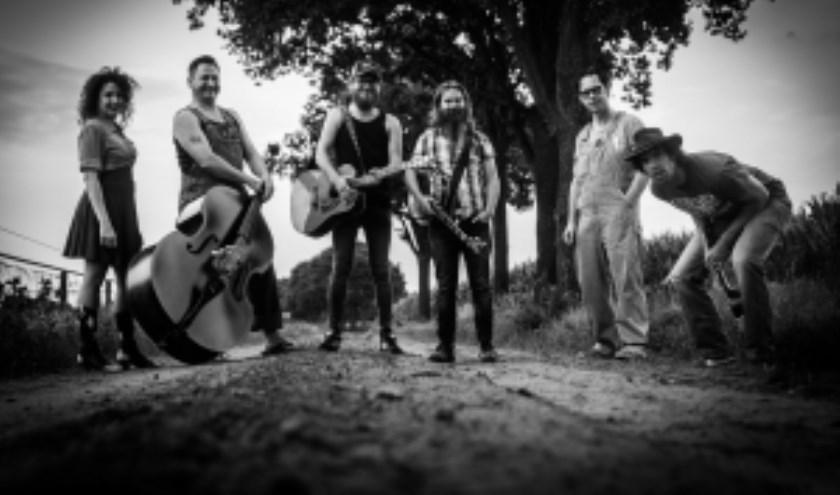 Op Vlinderpop is onder meer Hillbilly Hayride te zien. Deze zeskoppige bluegrass band speelt old time originals met meerstemmige vocalen, banjo, mandoline, contrabas, gitaar, ukelele en lapsteel.