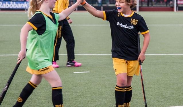 LG-hockey bij Hockeyclub 's-HertogenboschFoto: Robert Sanders