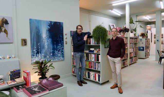 Mark Vanneuville (r) en Wim Damen (l) in hun gezamenlijke ervaringszaak