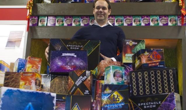 """Gilbert Verheijen: """"Doe vooral mee aan onze Sinterklaas- en Kerstactie!""""Foto: Niek Geneuglijk"""