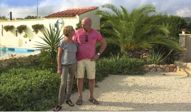 Angelie en Henk laten hun droom uitkomen in Spanje