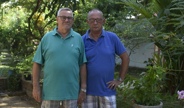 Ad van Lokven en Geert Hanegraaf (rechts)