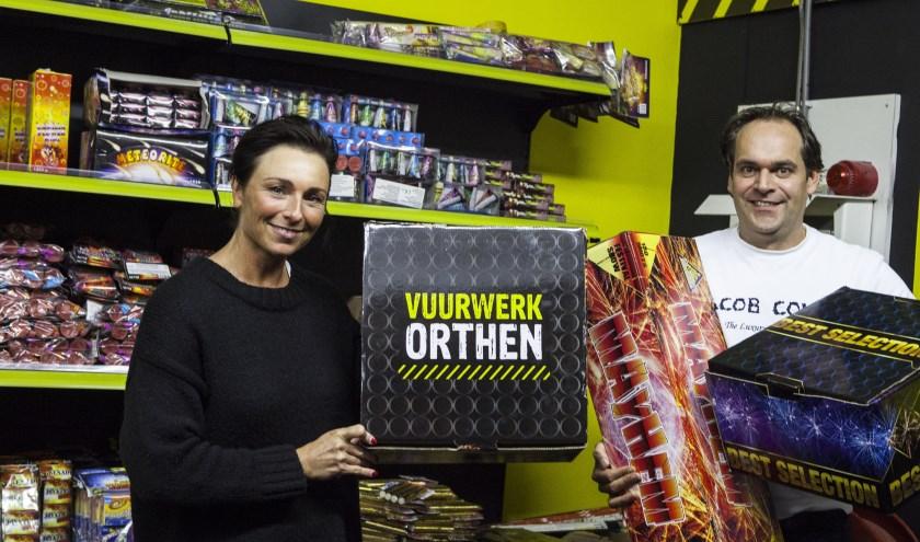 Team Vuurwerk Orthen staat voor je klaar. Foto: Michel van de Langenberg