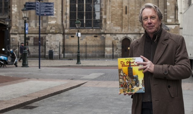 Ton voor de monumentale Sint-Jan, die uiteraard ook terugkomt in 'De Graal van Bloemendaal'. Foto: Michel van de Langenberg.