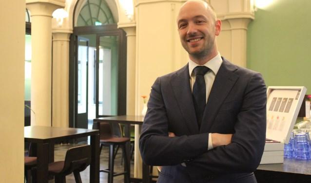 Duurzaam ondernemer Daan Schouten in de Museumbrasserie