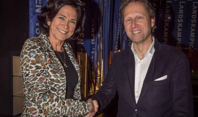 Mieke van den Akker - Lathouwers en Rob Almering. Foto: Robert Sanders