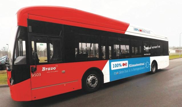 Negen nieuwe elektrische bussen in de stad