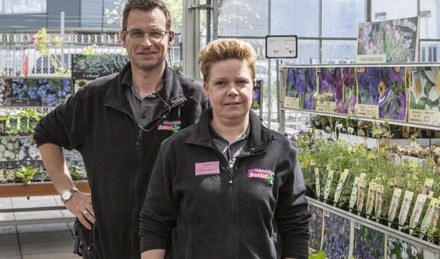 Tuincentrum Boxtel breidde onlangs de overdekte buitenafdeling uit. Foto: Michel van de Langenberg