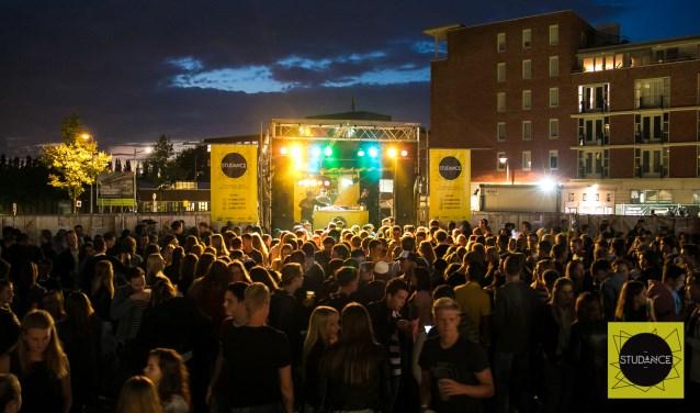 Studance Events organiseert dit jaar voor het eerst een buitenfestival om het schooljaar af te sluiten. Foto: Studance Events