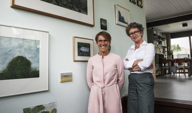 Ivonne van der Velden en Marie-José Eijkemans. Foto: Michel van de Langenberg