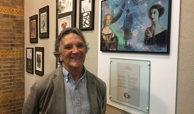 Ook het eigen werk van Toon Joosen alias Mr. Colori is te zien in de expositie