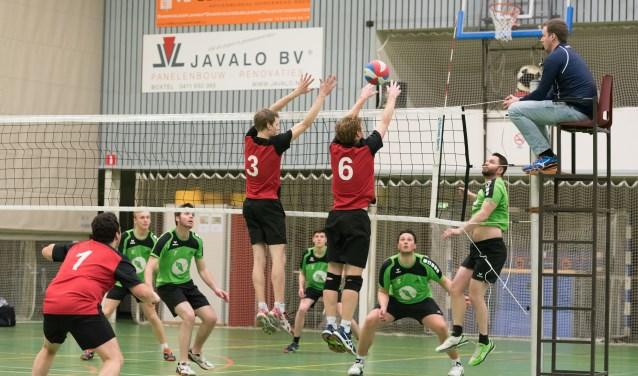Volleybalvereniging VVC-Vught viert zaterdag 9 juni het vijftigjarig jubileum in de Martinihal. Foto: Richard van der Ven
