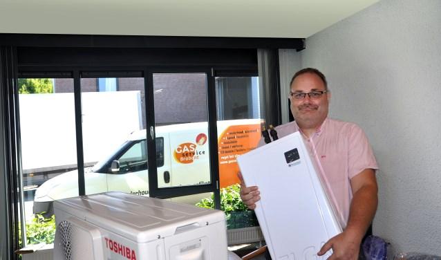 """Frank Lommers van Gasservice Brabant: """"Vooroplopen met de nieuwe energievormen"""". Foto: Ferdy Steger"""