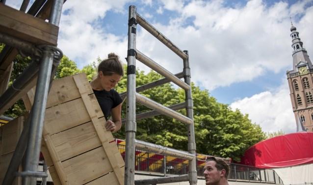 Je kunt je o.a.inzetten als bouwer tijdens Boulevard. Foto: Karin Jonkers/Yell & Yonkers