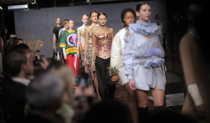 Vorig jaar tijdens de openingsshow van de Dutch Sustainable Fashion Week. Foto: Baldwin Henderson