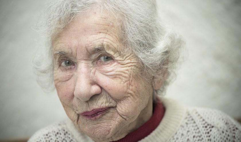 """Selma van der Perre: """"Wat er toen gebeurd is, mag nooit worden vergeten"""". Foto: Chris van Houts"""