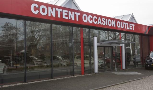 Naast nieuwe auto's kunt u nu ook terecht voor scherpgeprijsde occasions bij Content Autogroep in de Content Occasion Outlet. Foto: Michel van de Langenberg