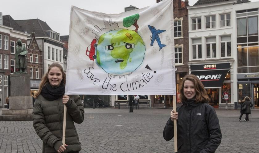 Frode Voets en Lina Mol maken zich hard voor hun toekomst. Foto: Michel van de Langenberg