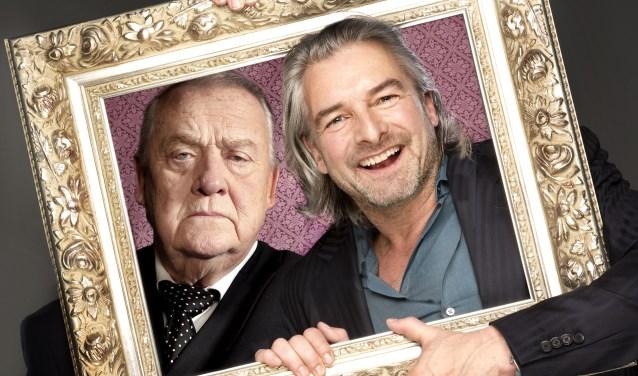 Jules Croiset en Victor Reinier in de thrillerkomedie 'Een goed mens'. Foto: Piek