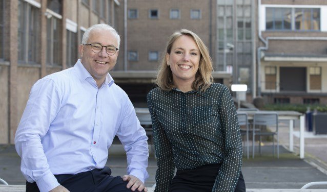 Corinne Helmink en Ivar van Thiel zijn de drijvende krachten achter Open Coffee. Foto: Inge van Olst