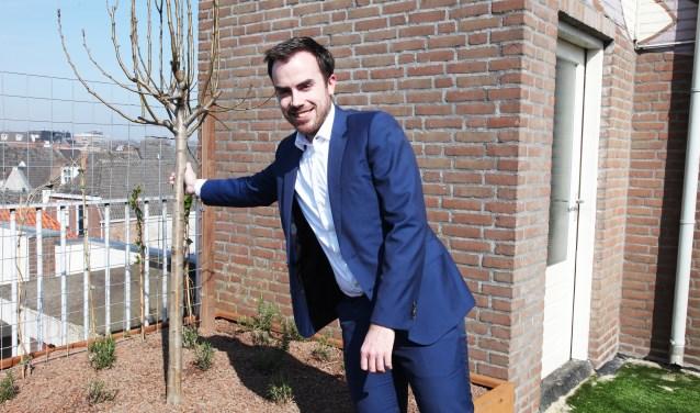 Wethouder Mike van der Geld verrichtte de officiële openingFoto: Gérard van Kessel