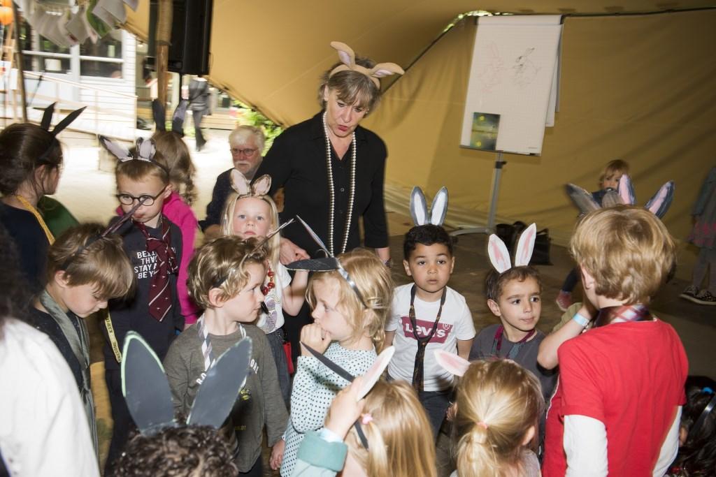 Een impressie van Het Mooie Kinderboekenfestival 2019 in Amsterdam. Foto: Chris van Houts Foto: Chris van Houts © bosscheomroep.nl