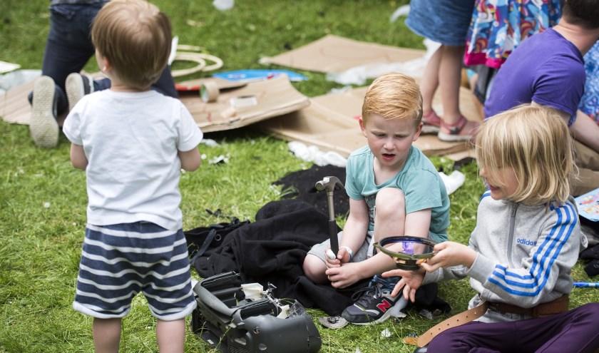 Een impressie van Het Mooie Kinderboekenfestival 2019 in Amsterdam. Foto: Chris van Houts