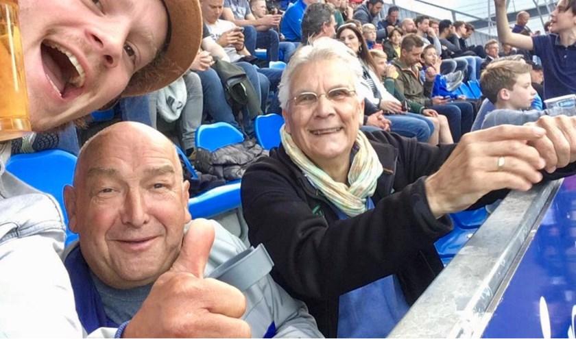Op stap naar FC Den Bosch met een andere generatie