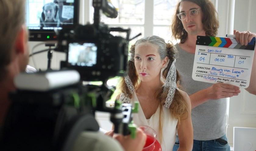 Tijdens een eerdere editie van het One Week Film project.