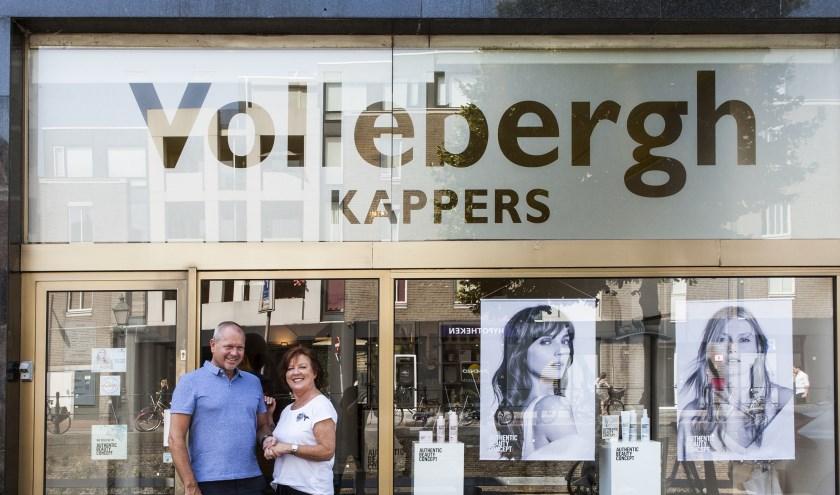 Lisette van Geffen samen met Jean-Paul Vollebergh. Foto: Michel van de Langenberg