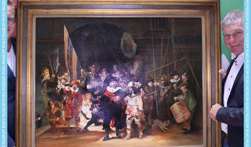 De Nachtwacht van Jan Liebregts is in volle glorie te zien in het Rijksmuseum