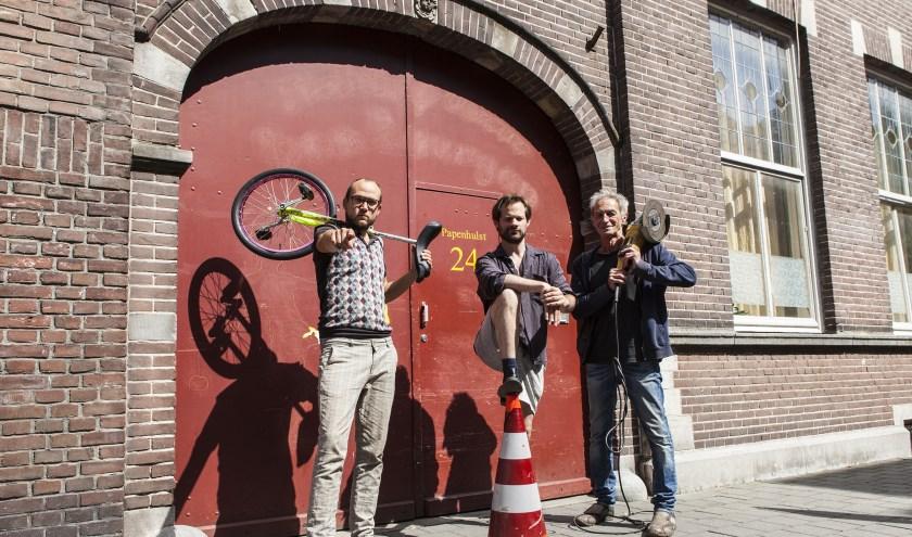 Noël Josemans, Jordy Sanchez en Ad van Etten delen een droom. Foto: Michel van de Langenberg