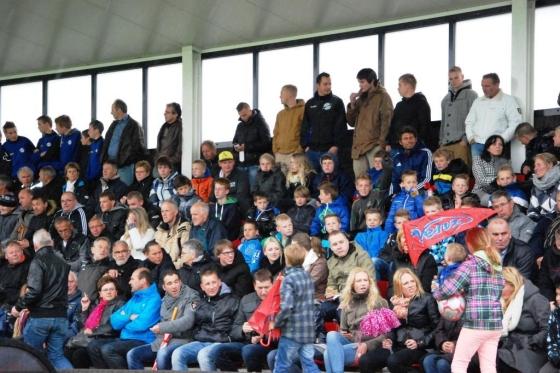Meer dan honderd Texelaars waren mee.