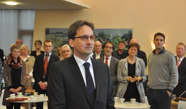Burgemeester Michiel Uitdehaag.