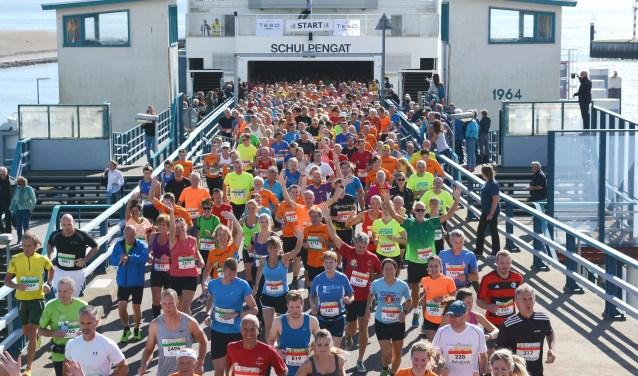 Foto: Texel halve marathon.