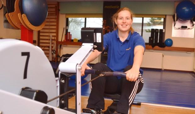 Fysiotherapeute Renske Laagland van FITT Texel.