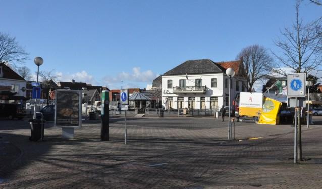 De Groeneplaats in het centrum van Den Burg.