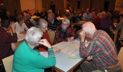 Samen nadenken over de zorg tijdens een bijeenkomst van Texel Samen Beter.