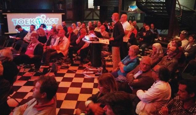 Eerdere bijeenkomst in De Toekomst over Planet Texel.