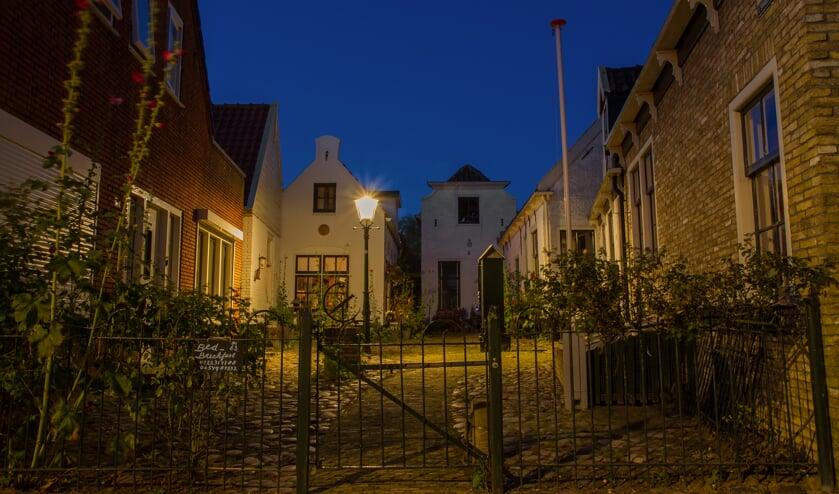 Justin Sinner Pictures bracht ons deze prachtige foto van het Hofje in Den Burg.