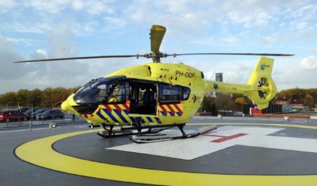 De ambulancehelikopter van de Friese Waddeneilanden. (Foto RAV Fryslan)