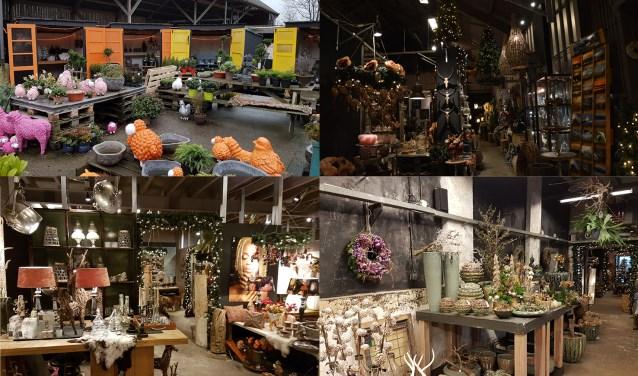 De kerstsfeer zit er al goed in bij Texels-Wonen.