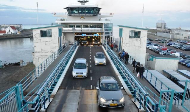 De veerhaven in Den Helder.