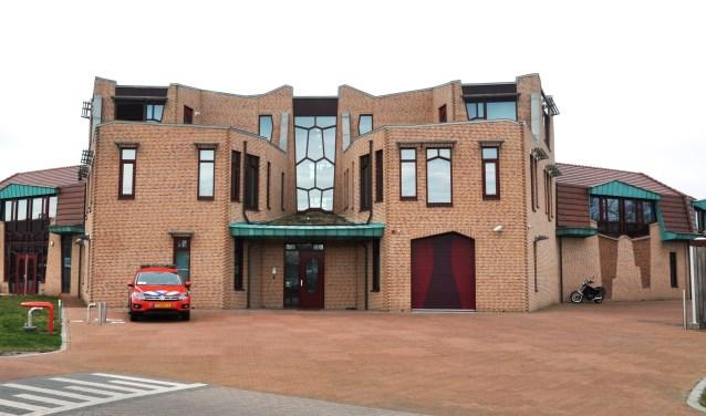 Het gemeentehuis in Den Burg.